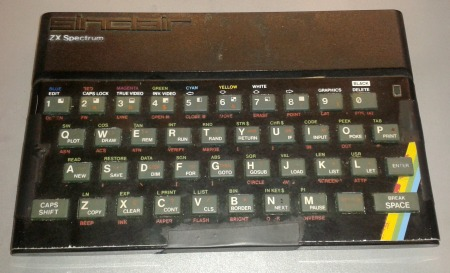 ZX Spectrum in non working state