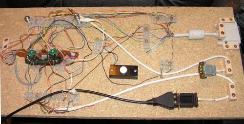 Layout of interface board