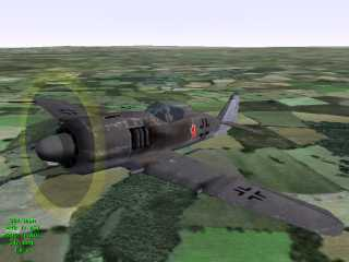 Fw190-A8, good graphics but a pain to fly