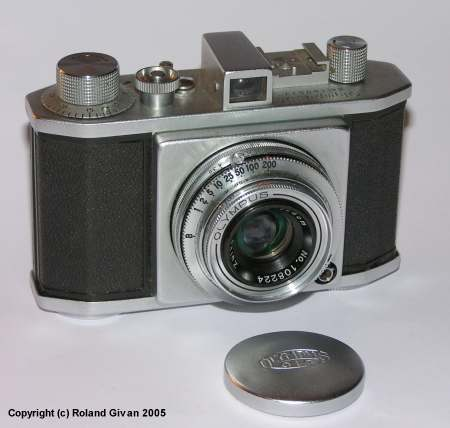 Olympus 35 and matching lens cap