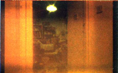 Pinhole view of back bedroom