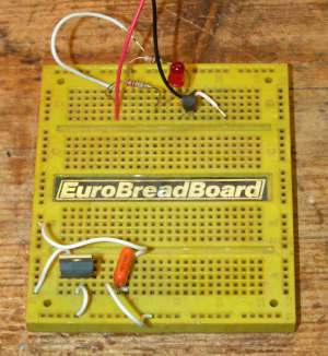 Solderless patchboard - often known as Breadboard