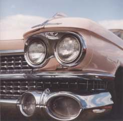 Photo of American classic car taken at a show in 2000.