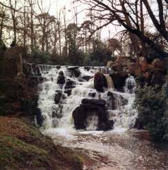 Waterfall at local beauty spot
