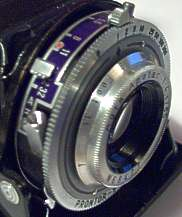 Photo of Apotar lens in Prontor-S shutter