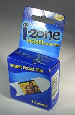 Packet of 12 i-zone film