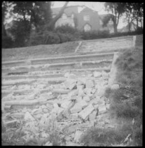 Photo of some disused stone steps